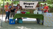 Diaper Drive 2015 Final Collection Event at Gahagan Park almost 2000 diapers collected and 500 wipes (5)-2